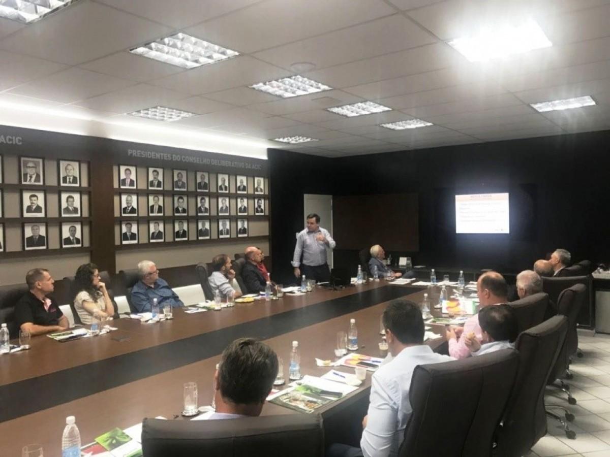 """""""Reconstrução da Chapecoense e a gestão que supera limites"""" são temas de palestra ministrada por Roberto Aurélio Merlo"""
